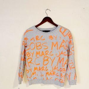 [Marc by Marc Jacobs]Shocking Orange Multi Sweater